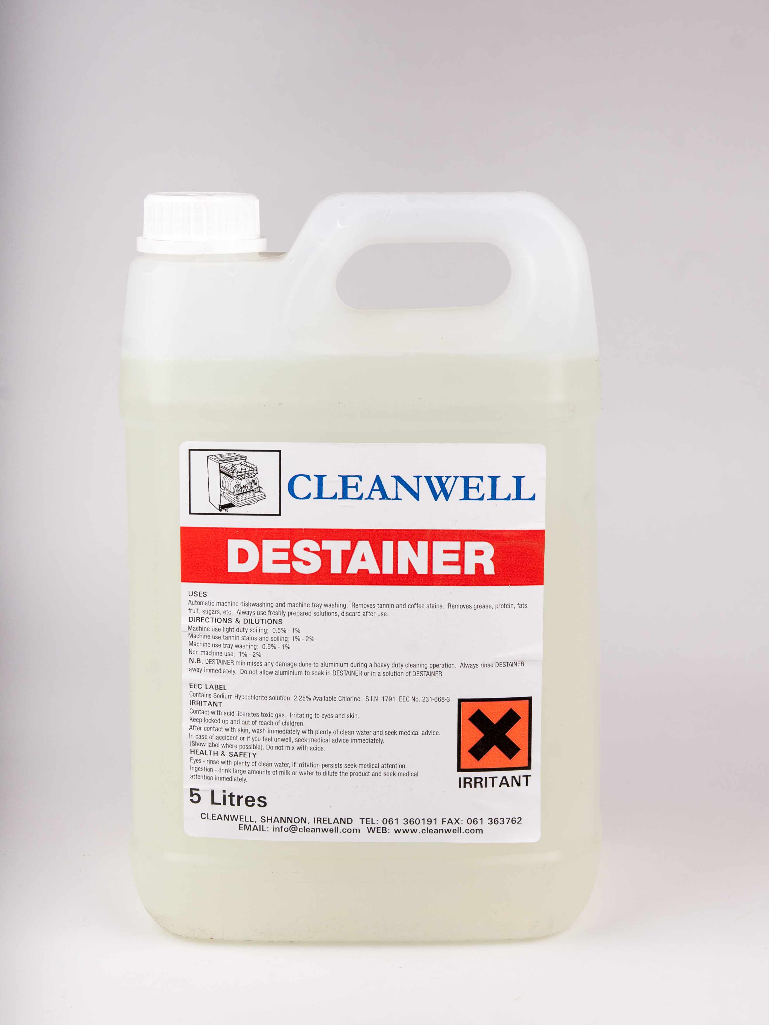 Destainer Cleanwell
